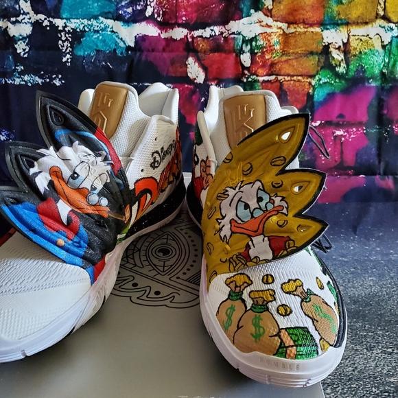 Nike Shoes | Custom Kyrie 5 Ducktales